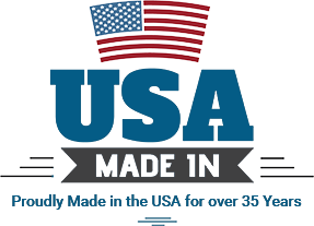 Proudly made in the USA for over 35 years.